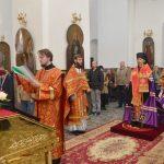В День Победы епископ Вениамин совершил благодарственный молебен Господу Богу за дарование победы в Великой Отечественной войне 1941–1945 годов