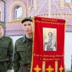 В кафедральном соборе святого Александра Невского г. Марьина Горка отметили весенний праздник, посвятив его Дню Победы