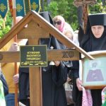 Престольный праздник, в честь святой блаженной Ксении Петербургской, возглавил правящий архиерей – епископ Борисовский и Марьиногорский Вениамин