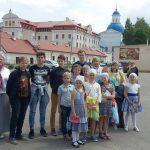 Воспитанники воскресной школы Михайловского храма города Жодино посетили Жировичский монастырь