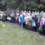 В День Святого Духа епископ Вениамин молился у источника Иоанна Предтечи Логойского района