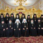 Епископ Борисовский и Марьиногорский Вениамин принял участие в работе заседание Синода Белорусской Православной Церкви