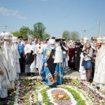 Преосвященнейший Вениамин принял участие в торжествах по случаю 180-летия со дня рождения и 100-летия со дня преставления праведного Иоанна Кормянского