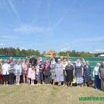 На месте строительства нового храма в городе Борисове совершён первый молебен