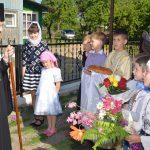 Преосвященнейший Вениамин совершил Литургию в Петро-Павловском храме городского посёлка Плещеницы