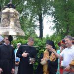 Для Лошницкого храма освятили восемь колоколов