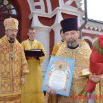 В День памяти святого равноапостольного князя Владимира епископ Борисовский и Марьиногорский Вениамин совершил Божественную литургию в Борисовском Воскресенском кафедральном соборе