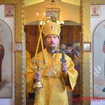 В память святых отцев шести Вселенских Соборов епископ Борисовский и Марьиногорский Вениамин возглавил Литургию в храме Рождества Иоанна Предтечи д. Избище
