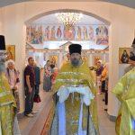 Епископ Борисовский и Марьиногорский Вениамин совершил закладку капсулы в основание часовни в честь святого Архистратига Михаила