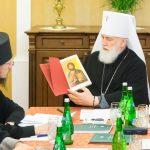Преосвященнейший Вениамин принял участие в очередном заседании Архиерейского совета Минской митрополии