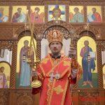 В день памяти сщмч. Вениамина, митрополита Петроградского и Гдовского, епископ Вениамин совершил Литургию в Воскресенском соборе города Борисова
