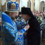 В день Успения Пресвятой Владычицы нашей Богородицы и Приснодевы Марии епископ Вениамин совершил Литургию в Благовещенском монастыре д. М.Ляды