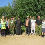 Верующие города Крупки во главе с благочинным Крупского церковного округа протоиереем Николаем Гмиром совершили крестный ход на велосипедах