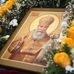 В канун дня памяти святителя Георгия (Конисского) епископ Вениамин сослужил за всенощным бдением в Свято-Никольском женском монастыре г. Могилева