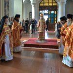 В праздник Усекновения главы Пророка, Предтечи и Крестителя Господня Иоанна епископ Вениамин совершил Литургию в Благовещенском монастыре
