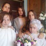 В г.п. Руденск прошли торжества в честь праздника Покрова Пресвятой Богородицы и Дня матери