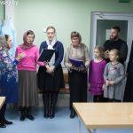 В родильном отделении г. Марьина Горка поздравили матерей с праздником Покрова Божьей Матери