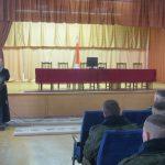 В 65-й автомобильной бригаде г. Жодино состоялась встреча со священником