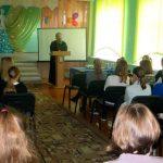 Настоятель храма святого Архангела Михаила г. Жодино провел беседу с воспитанницами Жодинской женской гимназии