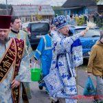 В день престольного праздника епископ Борисовский и Марьиногорский Вениамин совершил Божественную литургию в Покровском храме Свято-Ксениевского женского монастыря д. Барань