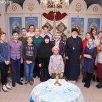 Члены Марьиногорского православного молодежного братства встретились с монахиней Свято-Духова женского монастыря г. Витебска Иоанной