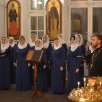 Выступление хора «Преображение» на праздник Покрова Пресвятой Богородицы