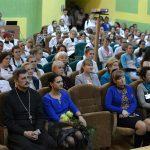 Благочинный 1-го Борисовского церковного округа протоиерей Александр Вербило принял участие в праздничном концерте в медицинском колледже