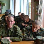 Встреча с военнослужащими в духовно-просветительском центре