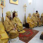 Епископ Вениамин принял участие в освящении храма в честь новомучеников и исповедников Церкви Русской в городе Дятлово