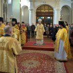 Преосвященнейший Вениамин, епископ Борисовский и Марьиногорский, совершил Божественную литургию в Благовещенском монастыре д. М.Ляды