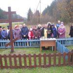 Освящение новосооруженных Крестов в поселке Крупском