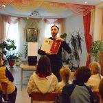 На приходе храма иконы Божией Матери «Избавительница» г.Жодино прошла лекция о кресте