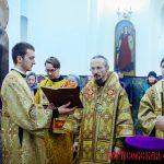 Епископ Борисовский и Марьиногорский Вениамин возглавил Божественную литургию в кафедральном соборе Воскресения Христова города Борисова