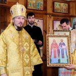 Престольный праздник отметил Никольский храм в аг. Октябрь Логойского района