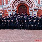 Соборное богослужение в кафедральном соборе города Борисова