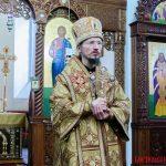В Неделю святых праотец епископ Вениамин совершил Божественную литургию в кафедральном соборе Воскресения Христова города Борисова