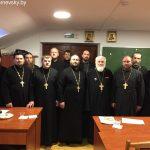 Состоялось собрание священнослужителей, духовно окормляющих личный состав воинских частей Борисовский епархии