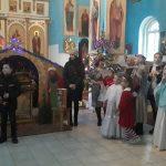 В храме святителя Николая Чудотворца г. Червеня состоялось праздничное рождественское мероприятие, подготовленное учащимися воскресной школы