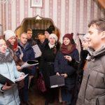 Колядование Марьиногорского молодежного братства
