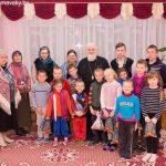 Поздравление с Рождеством Христовым воспитанников приюта в д. Дубровка Пуховичского района