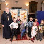 В кафедральном соборе святого Александра Невского города Марьина Горка состоялся праздник, посвященный Рождеству Христову
