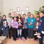 Поздравление с Рождеством Христовым инвалидов отделения дневного пребывания ТЦСОН Пуховичского района
