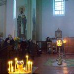 Епископ Борисовский и Марьиногорский Вениамин возглавил воскресную вечерню с чином прощения