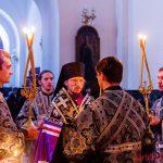 Епископ Вениамин совершил великое повечерие с чтением Великого канона преподобного Андрея Критского