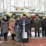 Благочинный Жодинского церковного округа совершил молебен в День памяти воинов-интернационалистов