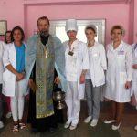 Совершено освящение корпусов УЗ «Борисовский родильный дом»