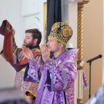 В день почитания иконы Божией Матери «Державная» была совершена Литургия Преждеосвященных Даров в кафедральном соборе Марьина Горка