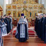 Состоялось совместное богослужение духовенства Борисовской епархии