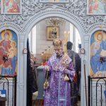 Епископ Борисовский и Марьиногорский Вениамин совершил Литургию Преждеосвященных Даров в Богоявленском храме-часовне