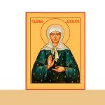 График пребывания иконы блаженной Матроны Московской  с ковчегом святых её мощей в храмах Борисовской епархии